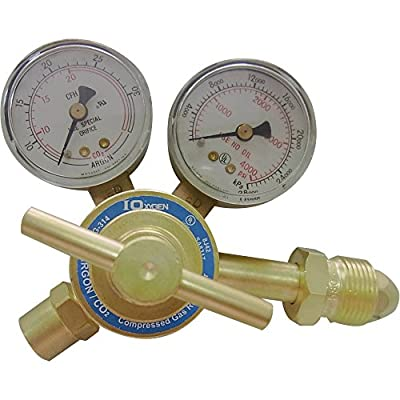 Northern Industrial Welders Argon/CO2 Regulator/Flow Gauge - For MIG or TIG Welders
