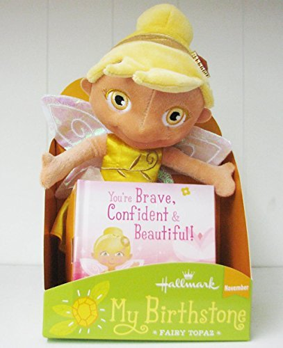 Doll Fairy Plush (Hallmark KID3273 My Birthstone Fairy Topaz - November)