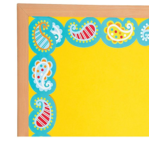 y Bulletin Board Borders (With Sticky Notes) ()