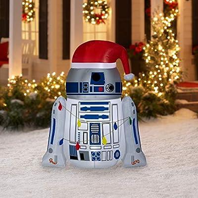 Desconocido Airblown Inflatables R2-D2 de 4, 5 pies Envuelto ...