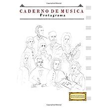Caderno de Música Pentagrama: (17.78 x 25.4 cm)