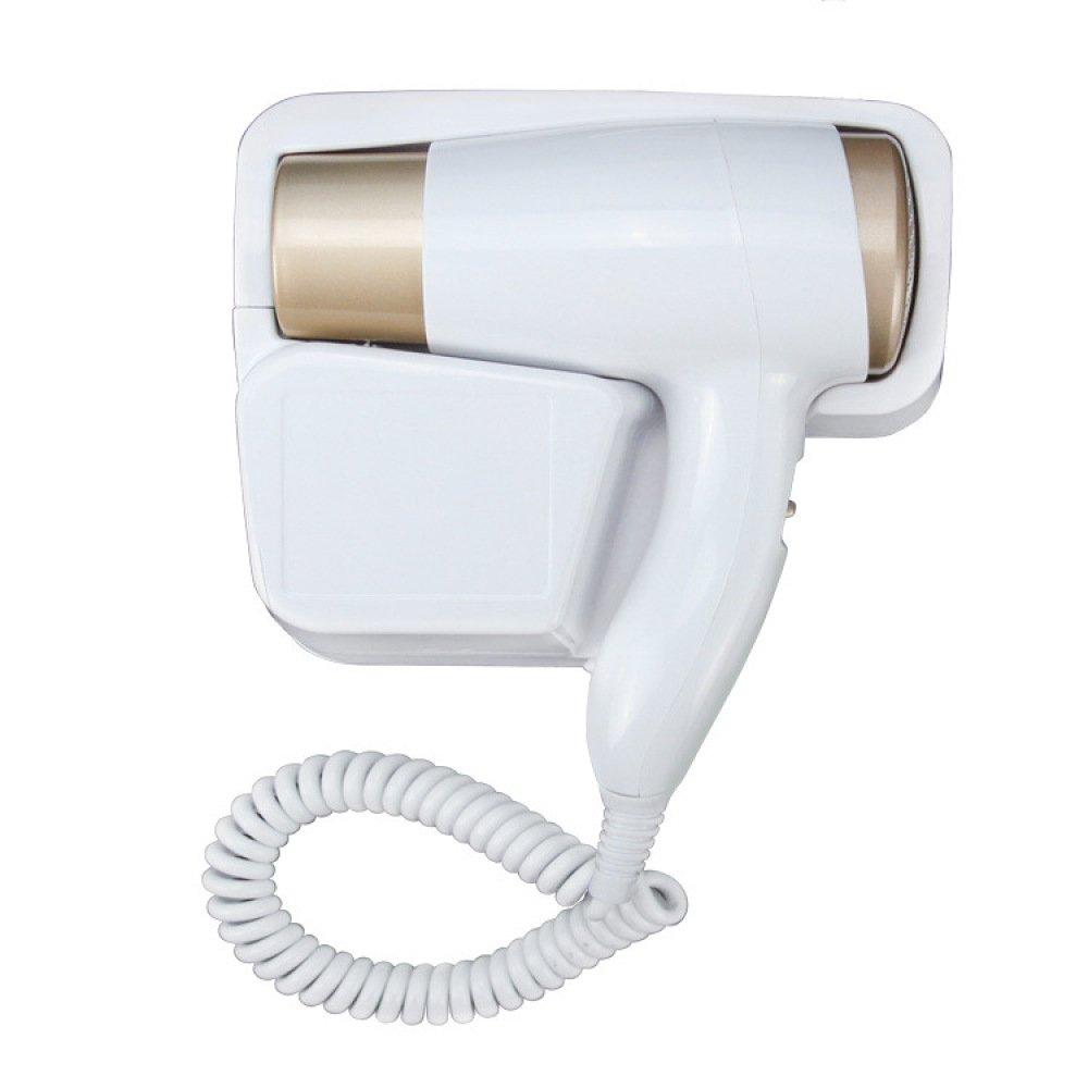 stile classico WLG Asciugacapelli da da da parete per hotel Asciugacapelli da parete per hotel Asciugacapelli caldo e freddo,bianca,Taglia unica  acquisto limitato