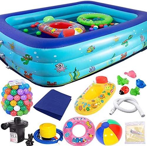 BJL Piscina Inflable Piscina para niños bañera para el hogar bañera para niños Piscina Hinchable bañera Hinchable Jugar a la Piscina OYO (Size : 262 * 175 * 60cm): Amazon.es: Hogar