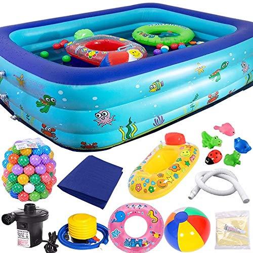 WangQ Piscina para niños bañera para el hogar bañera para ...
