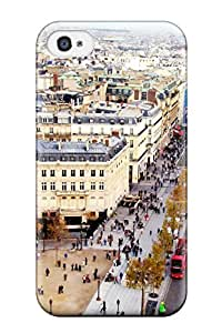 Forever Collectibles Champs Elysees Paris France Hard Snap-on Iphone 4/4s Case
