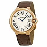 Cartier Men's W6920083 Ballon Bleu Analog Display Automatic Self Wind Brown Watch