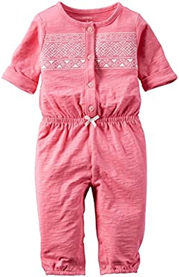 Carter's Baby Girls' Jersey Jumpsuit (Baby) by Carter's that we recomend personally.