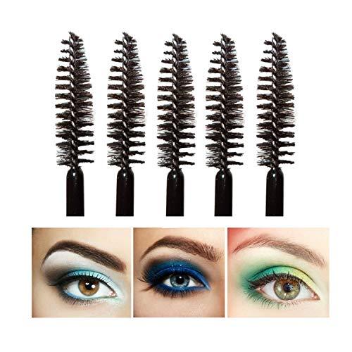 XZYZYW 100 disposable mascara sticks for eyelash extension and makeup color (Black)
