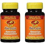 Nutrex Hawaii BioAstin Hawaiian Astaxanthin, 50 Gel Caps supply, 12mg Astaxanthin per Serving (Pack of 2)