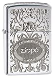 Zippo Crown Stamp with American Classic Lighter