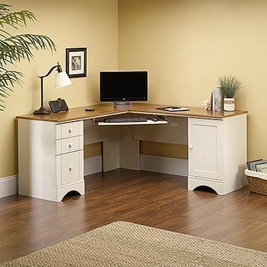 (Sauder 403793 Harbor View Computer Desk, L: 66.14