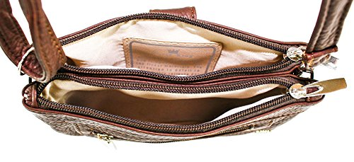 Mini Brown Bag King Purse Posh Dark EYR6Pq
