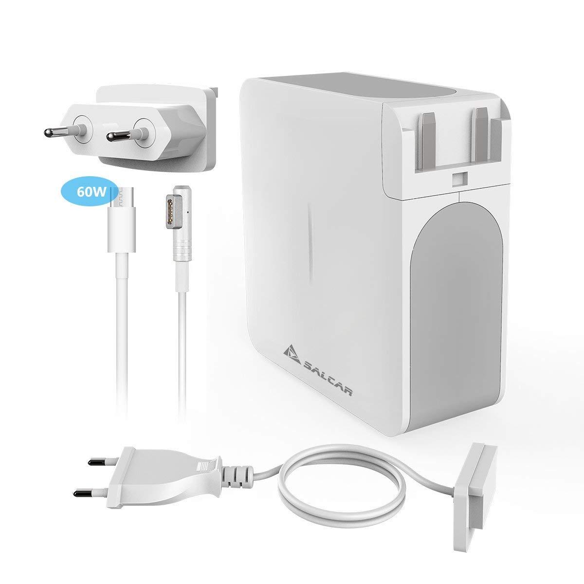 SALCAR 60W Magsafe 1 Adaptador para Apple MacBook (Forma de L) USB ...