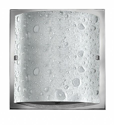 (Hinkley 5920CM-LED Contemporary Modern One Light Bath from Daphne Collection in Chrome, Pol. Nckl.Finish,)