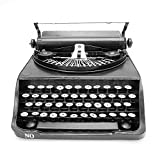 NAVAdeal Vintage Typewriter Prop Handcraft Models Ornament for Photograph Studio/ Wedding/ Cafe Coffee Shop/ Bookstore / Home/ Theme Party Decoration