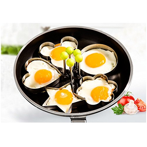 Egg Poachers - 5PC/Set Cooking Gadgets Egg Tools Stainless S