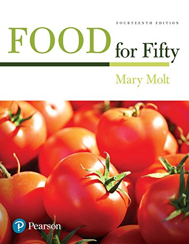 Food for Fifty: Food for Fifty ePub _14 (What's New in Culinary & Hospitality) by Mary K. Molt