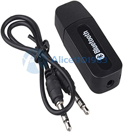 Bluetooth 3.0 AUX 3.5mm Stereo Car Wireless Music Speaker Audio Adapter Receiver