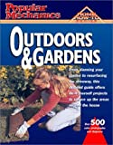 img - for Popular Mechanics Outdoors & Gardens (Popular Mechanics Complete Home How-To) (2001-12-31) book / textbook / text book