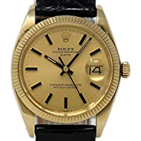 Rolex Date Swiss-Automatic Male Watch 1503 (Certified Pre-Owned)