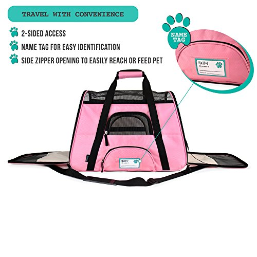 PetAmi Soft-Sided Pet Travel Carrier