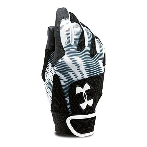 Under Armour Womens Radar - Under Armour Women's Radar III Softball Batting Gloves, White (100), X-Large