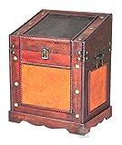 Vintiquewise TM Old Style Desk Podium Chest Decorative Desktop Lectern