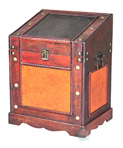 Vintiquewise TM Old Style Desk Podium Chest Decorative Desktop Lectern by Vintiquewise