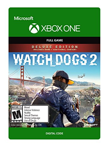 Watch Dogs 2 Deluxe Edition - Xbox One Digital Code by Ubisoft