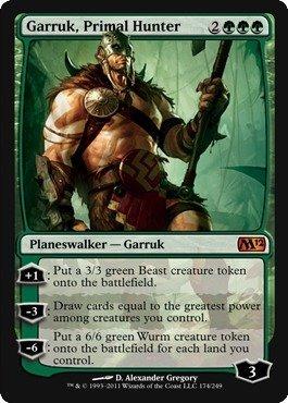 Magic: The Gathering Garruk, Primal Hunter (Magic The Gathering Garruk Caller Of Beasts)