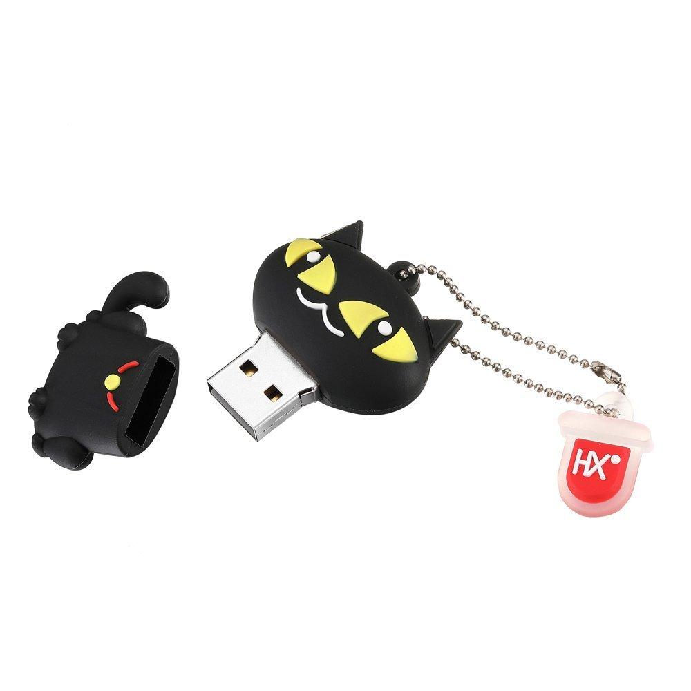 HX Fun Dessin Anim/é Animal Clef USB 8Go//16Go//32Go Fantaisie Pendrive Cl/és USB 2.0 Flash Drive M/émoire Stick Cadeau Amusant pour Tous Les /âges(8Go,Cat)
