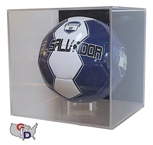 Acrylic Wall Mount Soccer Ball Display Case by GameDay Display by GameDay Display