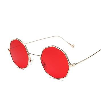 d4279209ab MEI XU MX Sunglasse - Polygon Sunglasses Korean Elegant Sunglasses Round  Personality Sunglasses Ms. Sunglasses