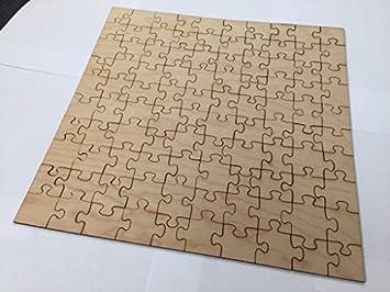 40cm X 100 Piece Blank Wooden Jigsaw Puzzle