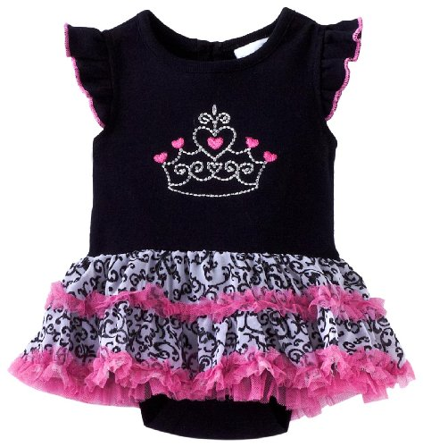 Vitamins Baby Baby Girls' Tiara Creeper Set