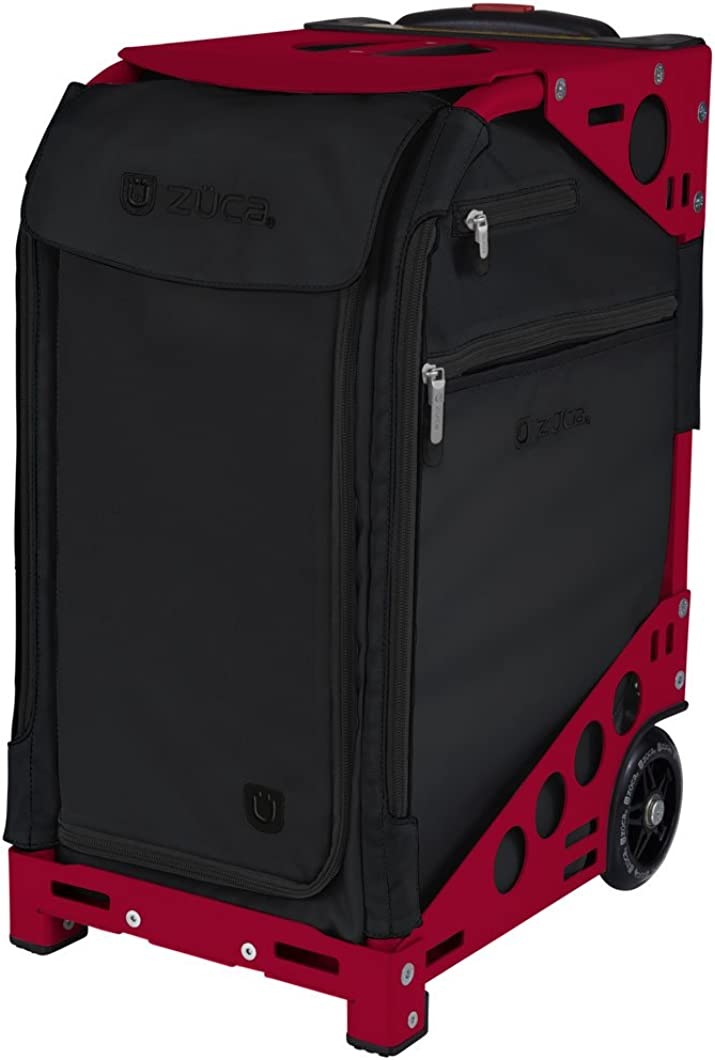 ZUCA Oxford Pro Artist Bag in Frame with Built-in Seat, with Set of 5 Stacking Packing Pouches Choose Your Color