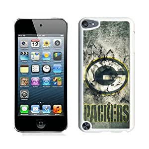 Unique iPod Touch 5 Case ,Popular And Durable Designed With Green Bay Packers 30 White iPod Touch 5 Cover