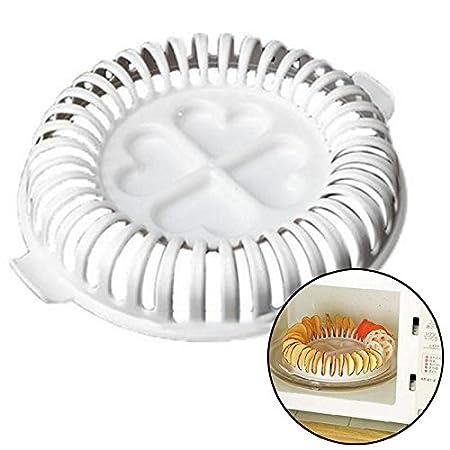 Compra AnqeesoApple - Bandeja de horno para microondas y frutas ...