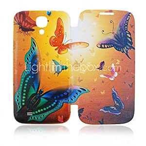 Butterfly Full Body Leather Case for Samsung Galaxy S4 I9500
