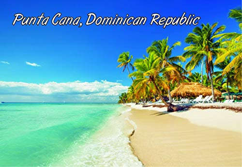 Punta Cana, Dominican Republic, Island, Beach, Souvenir Magnet 2 x 3 Photo Fridge Magnet ()
