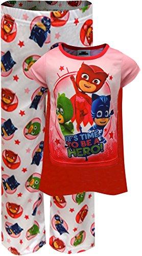 PJMASKS Pj Masks Toddler Girls 2-Piece Short Pajama Set Cape