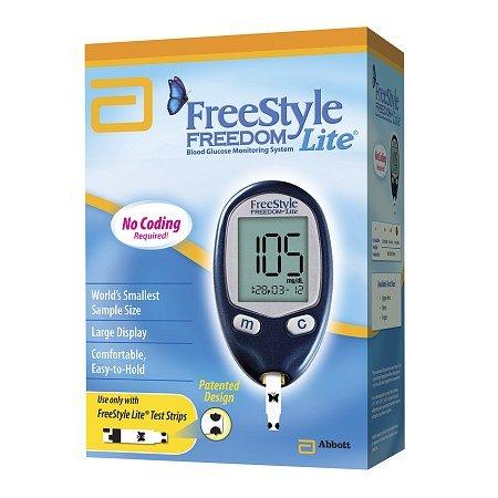 Système de surveillance de la glycémie FreeStyle Freedom Lite