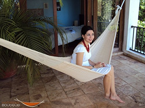 INDIVIDUAL Mayan Hammock BEIGE in COTTON
