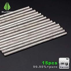 10pcs Magnes Rods Mg 99.95% Pure Emergen...