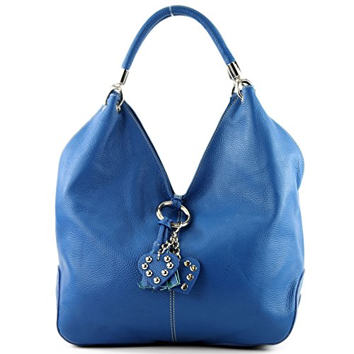 Italian Blue bag 330A bag shoulder leather women's bag handbag bag 7w7q6r