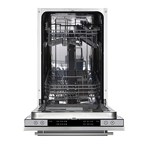 Cookology CBID450 45cm Fully Integrated, Built-in Slimline Dishwasher   10 Place Setting