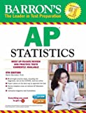 img - for Barron's AP Statistics with CD-ROM, 9th Edition book / textbook / text book
