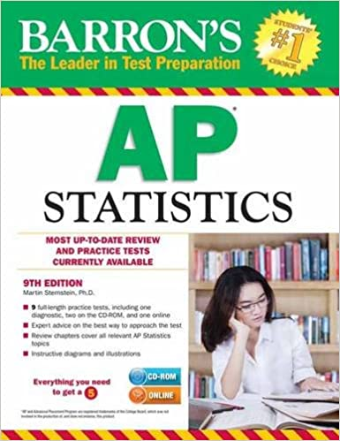 Image result for Barron's AP Statistics