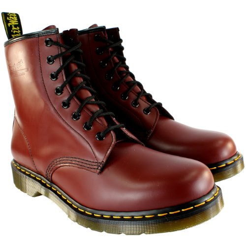 Union Dr Boots 8 Eye Men's Jack Cherry Red Red Martens 1fwfqOp