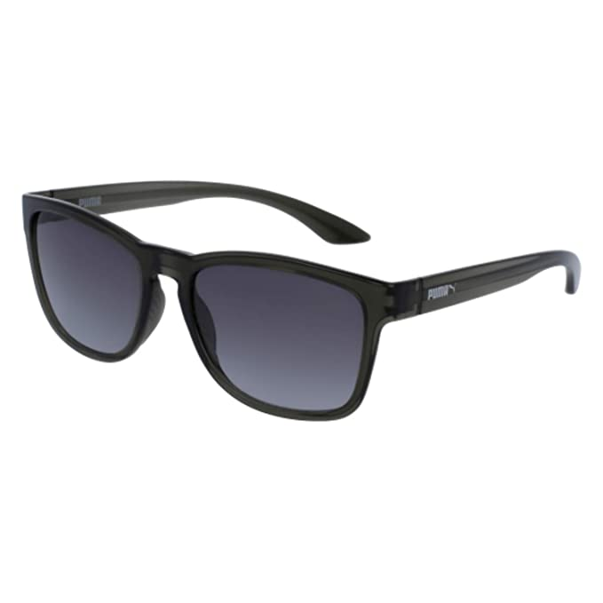 3d71d97fb23d Image Unavailable. Image not available for. Colour: Puma 001 Grey 0073S  Wayfarer Sunglasses Lens Category ...